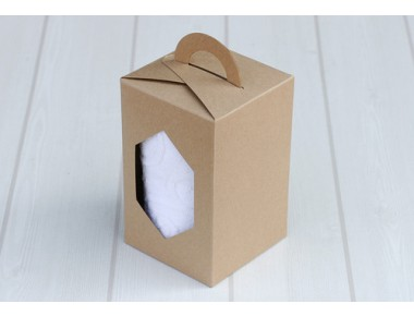 손잡이크라프트(6각)상자