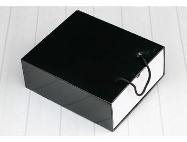 ☆[블랙/화이트]슬리브 신발&선물상자