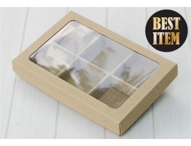 [비조립]창문AT 비누6구조립골지상자