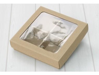 [비조립]창문AT 비누4구조립골지상자